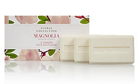 M&S Floral Collection Soap - Magnolia