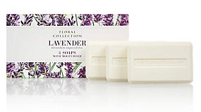 M&S Floral Collection Soap - Lavender