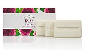 M&S Floral Collection Soap - Rose