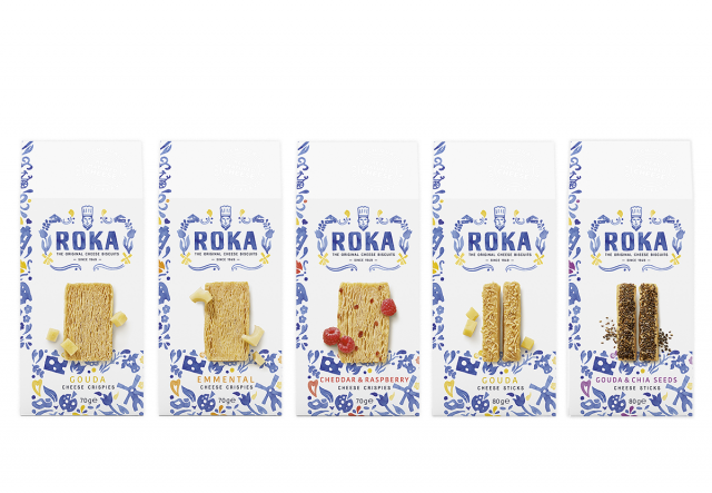 ROKA Cheese Crispies & Cheese Sticks (Assorted Flavours)