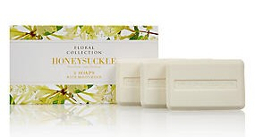 M&S Floral Collection Soap - Honey